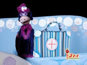 Новогодний спектакль Как ёжик медвежонка спас