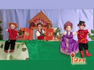 Кукольный спекктакль Гори, гори ясно