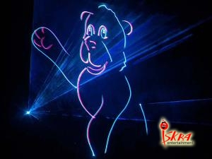 лазерное шоу для детей