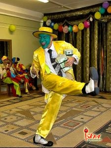 жонглер-маска