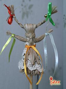 плетение игрушек из лыка