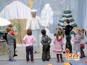 Кукольный спектакль В гостях у Матушки-зимы