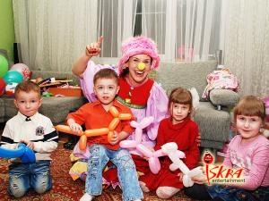 скидки на детский праздник