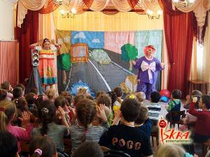 Кукольный спектакль День рождения светофора